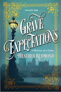 Happy Book Birthday to Grave Expectations by Heather Redmond!