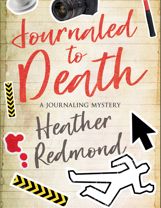 Cover Reveal: Journaled to Death by Heather Redmond