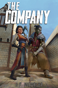 Happy Book Birthday to THE COMPANY by J.T. Nicholas